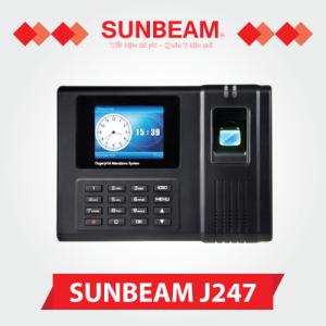 Máy chấm công vân tay Sunbeam J247