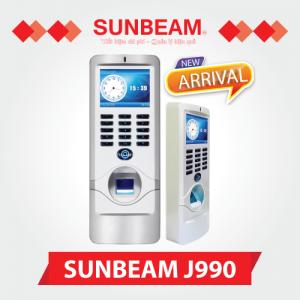 Máy chấm công vân tay Sunbeam J990
