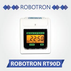 Máy chấm công thẻ giấy Robotron RT-90D