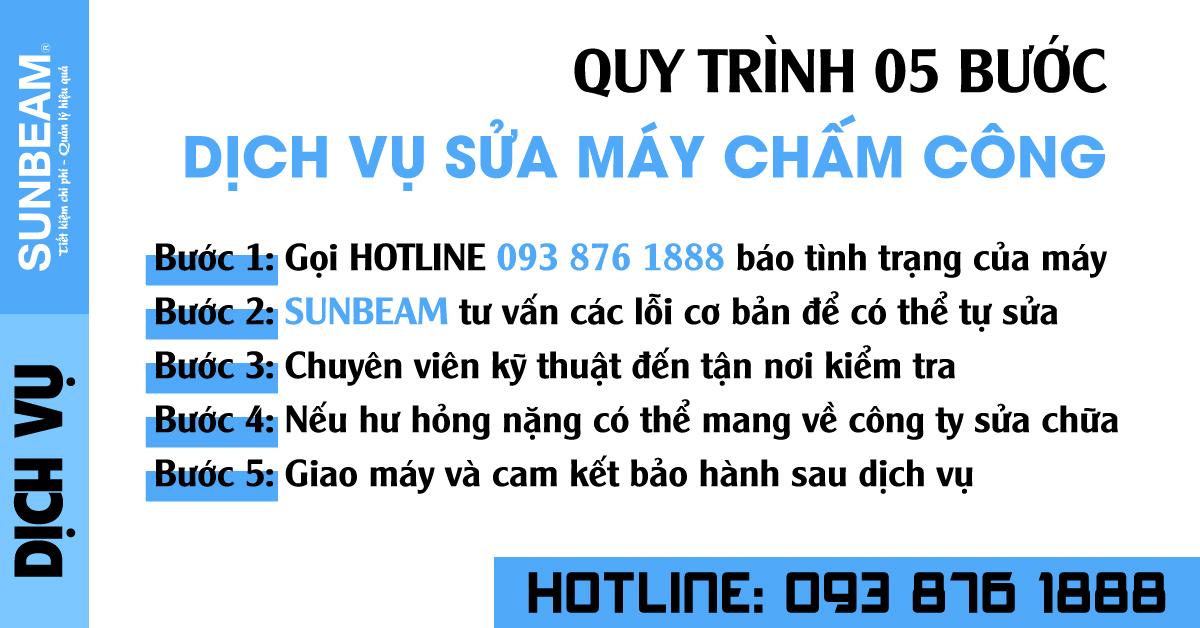 5 bước dịch vụ sửa máy chấm công tại đường Nguyễn Huệ tại Quận 1