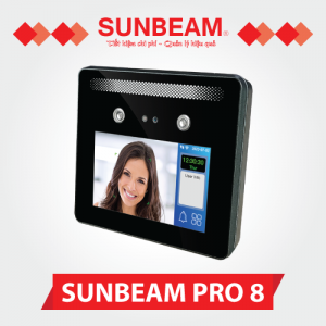 Máy chấm công khuôn mặt Sunbeam Pro 8
