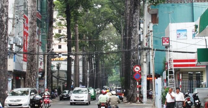 Đường Bùi Thị Xuân tại Quận 1