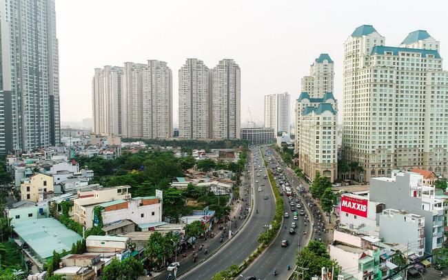 Đường Nguyễn Hữu Cảnh tại Quận 1