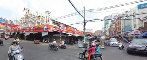 Đường Nguyễn Hữu Cầu tại Quận 1