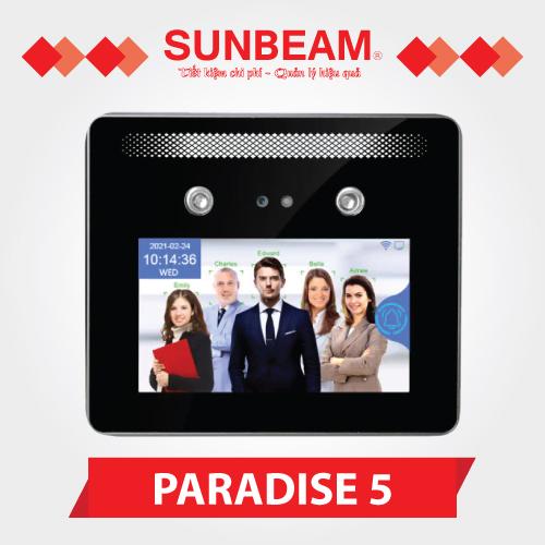 Máy chấm công nhận diện khuôn mặt Model PARADISE 5