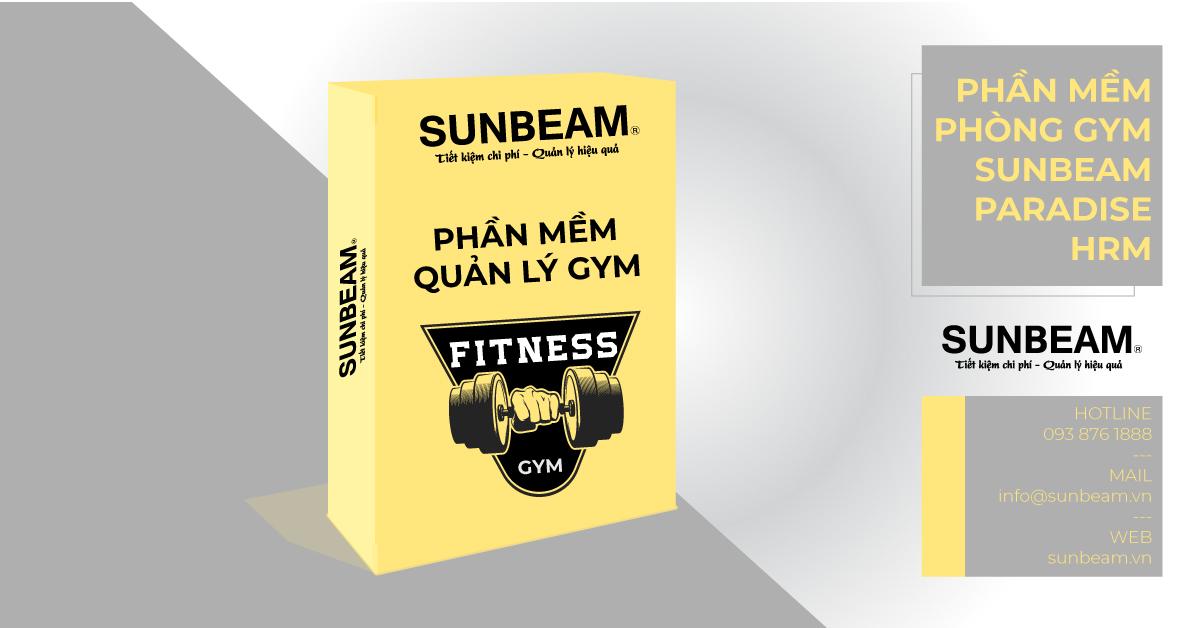 Phần mềm quản lý phòng Gym Fitness Sunbeam Paradise HRM