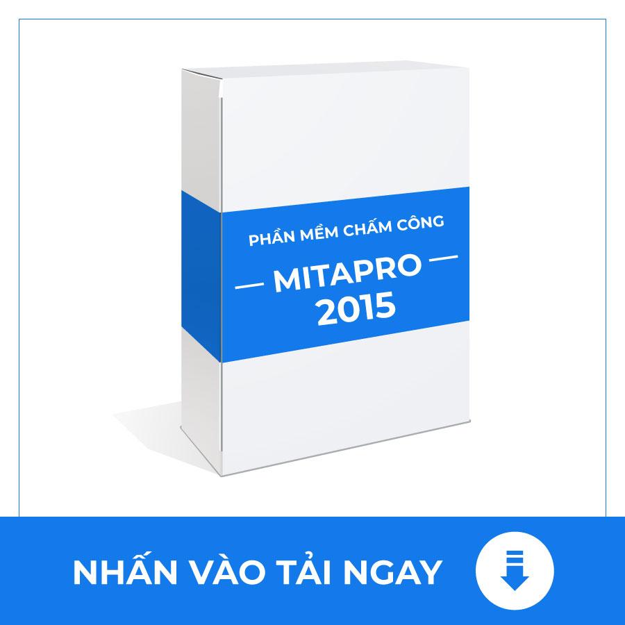 PHẦN MỀM CHẤM CÔNG MITA PRO 2015